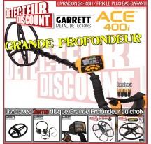 Garrett ACE 400i Pack Grande Profondeur