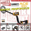 Garrett ACE 300i + 2eme disque au choix