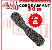 30m corde militaire pour aimant détection
