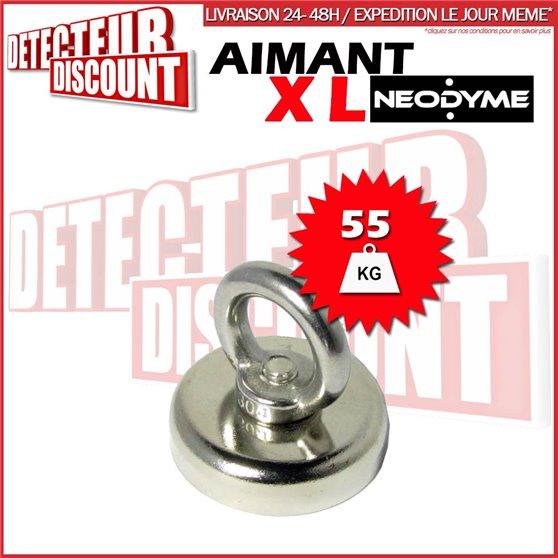 Aimant XL Néodyme de détection (55 Kg)