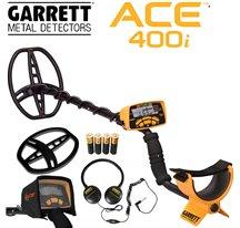 Garrett ACE 400i + casque + protège disque + housse