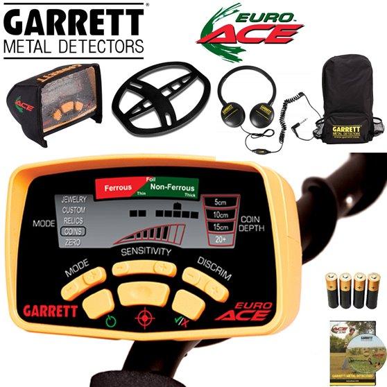 Garrett EURO ACE PACK+ protège-disque