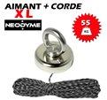 Aimant Néodyme (55 Kg) + corde 30m