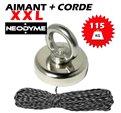 Aimant Néodyme (115 Kg) + Corde 30m