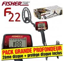 Fisher F22 Pack Grande Profondeur