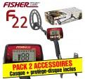 Fisher F22 + casque + p-disque