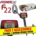 Fisher F22 + casque + protege-disque
