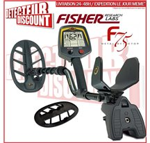 Fisher F75 + casque + protège-disque