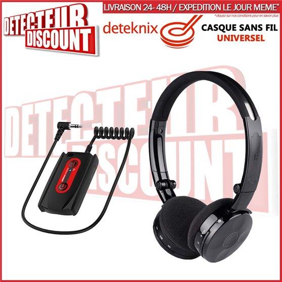 Casque sans fil Deteknix W3 LITE