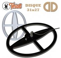 Disque 31x27cm pour Tesoro (14-18kHz)