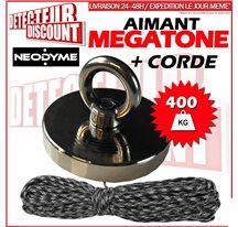 Aimant NEODYME 400kg + corde