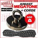 Aimant NEODYME 400kg (Wicked Magnet)