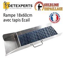 Rampe 18x60cm + tapis Ecail