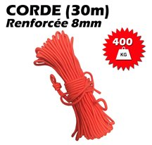 Corde renforcée 8mm (30mètres)