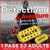 Pass 2 JOURS Detectland AVENTURE