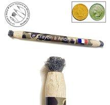 Crayon grattoir laine d'acier