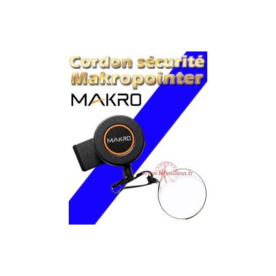 Cordon de sécurité métallique pour Makropointeur