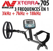 XTERRA 705 3 frequences en 1 !