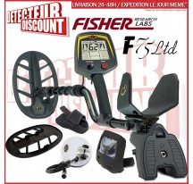 Fisher F75 LTD Black + 2eme disque 12cm