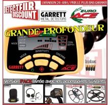 Garrett EURO ACE Pack Grande Profondeur