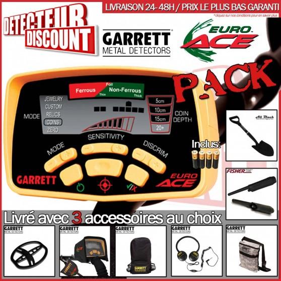 Garrett EURO ACE + 1 accessoire au choix