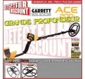 Garrett ACE 200i + disque SEF 38cm