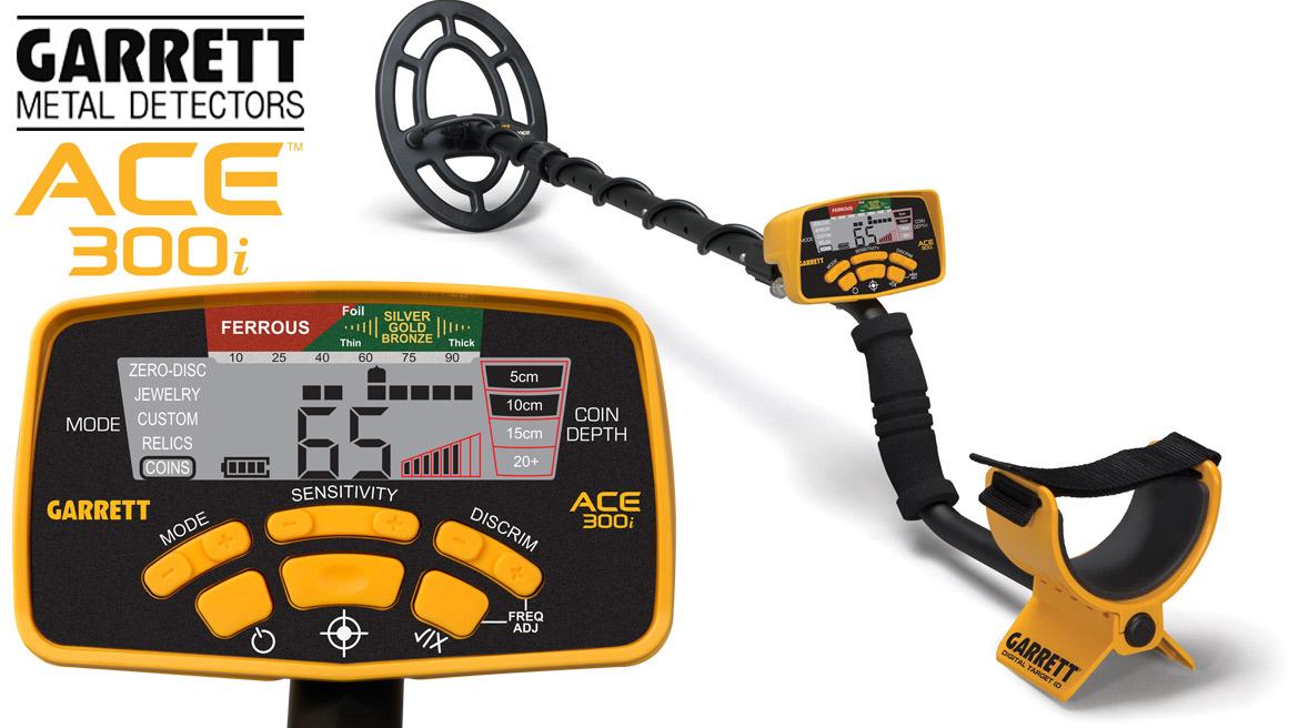 Achat de détecteur de métaux Garrett ACE 300 i en promotion