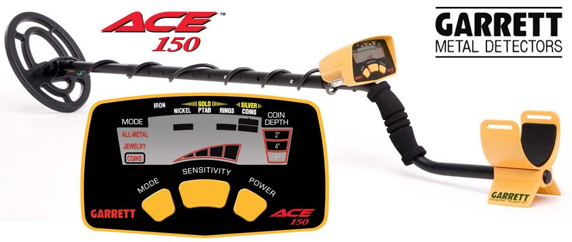 Vente de détecteur de métaux Garrett ACE 150 en promotion