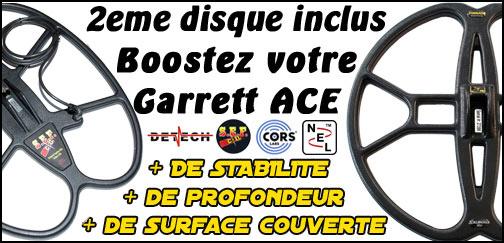 Promotion Garrett ACE 400i pack grande profondeur