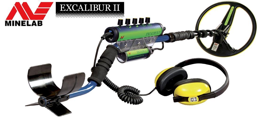 Vente de détecteurs de métaux Minelab Excalibur 2 en promotion
