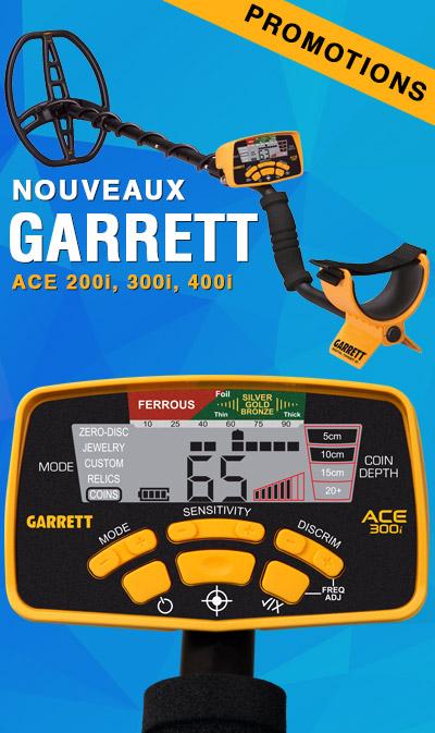 achat détecteur de métal Garrett à petit prix
