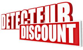 Detecteur Discount, magasin de vente de détecteurs de métaux à prix discount