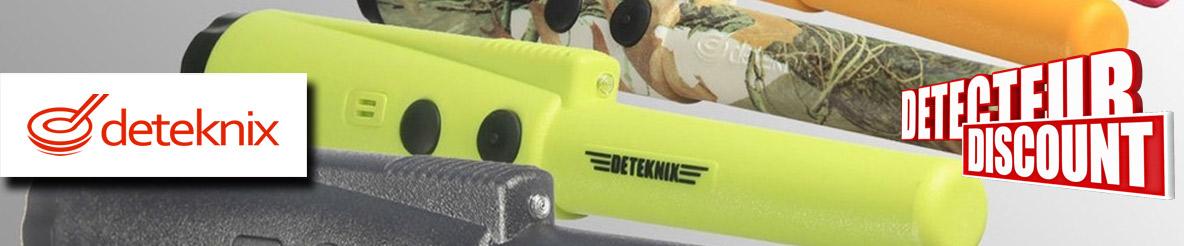 Promotion détecteurs de métaux et pinpointers Deteknix